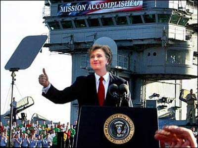 hillary mission accomplished
