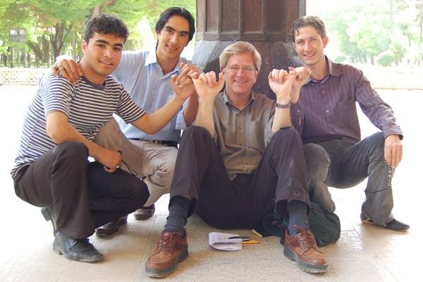 Rick Steves in Iran