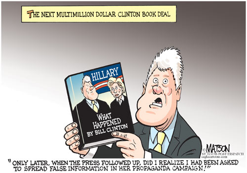Clinton Book Deal