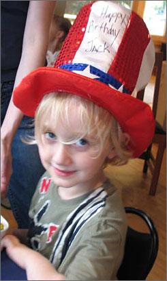 John William Anderson, age 6