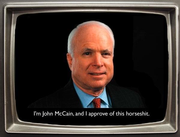 McCain lies