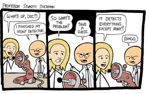 Irony Detector