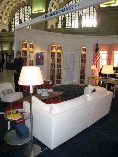 IKEA Oval Office