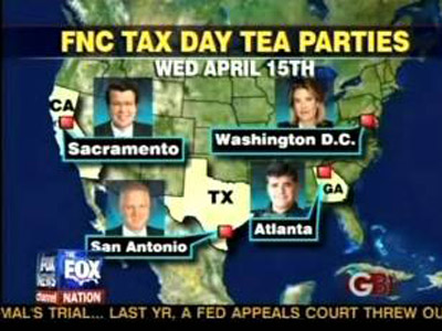 Fox News Channel Tax Day Tea Parties