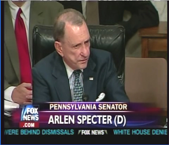 Arlen Specter (before he actually became one!)