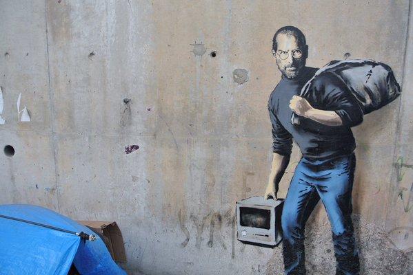 Banksy: Steve Jobs