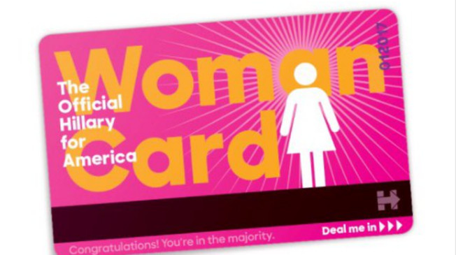 Official Woman Card
