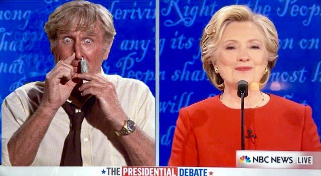 Trump Sniffs