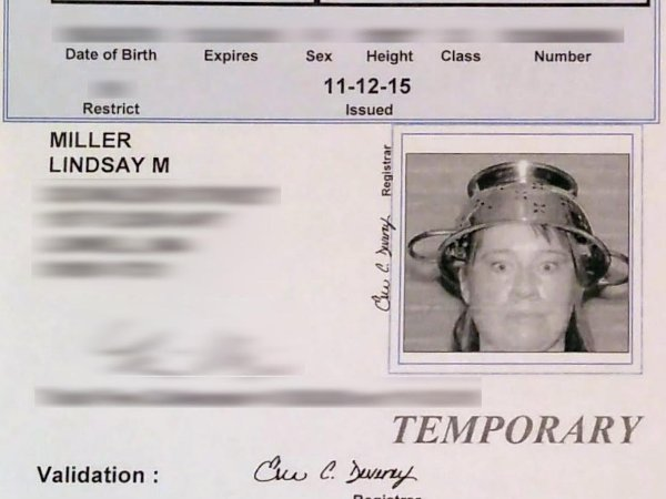 Lindsay Miller Colander License jpg Religious Freedom